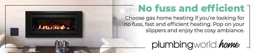 No fuss and efficient. Choose gas home heating if you're looking for no fuss, fast and efficient heating. Pop in your slippers and enjoy the cosy ambiance.