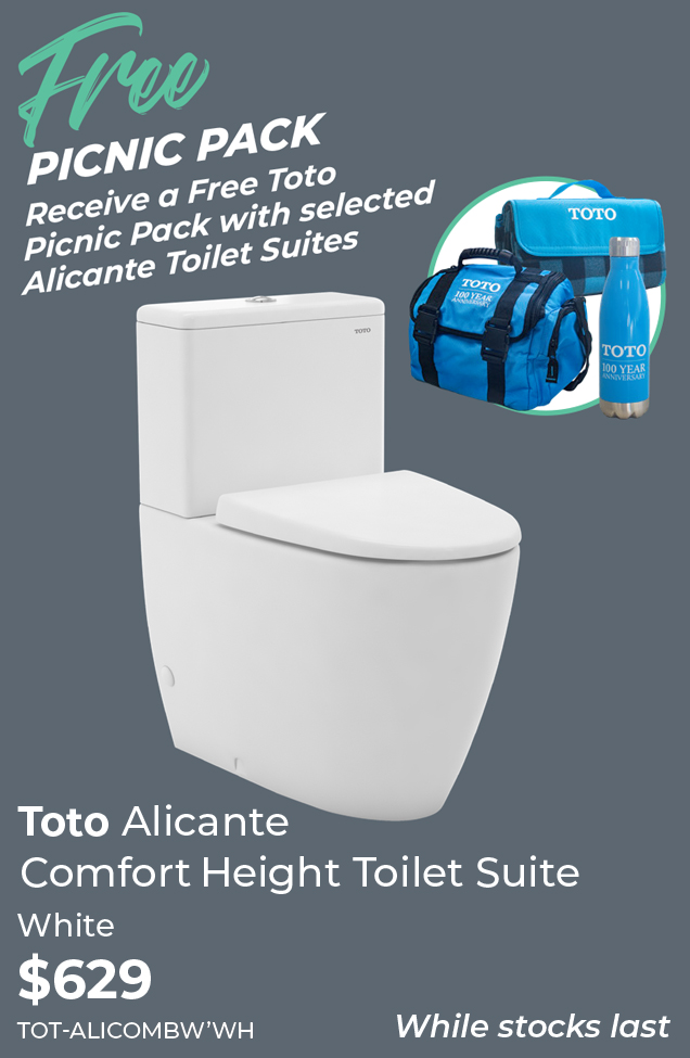hotDeals2018_Toto Alicante Comfort Height Toilet Suite