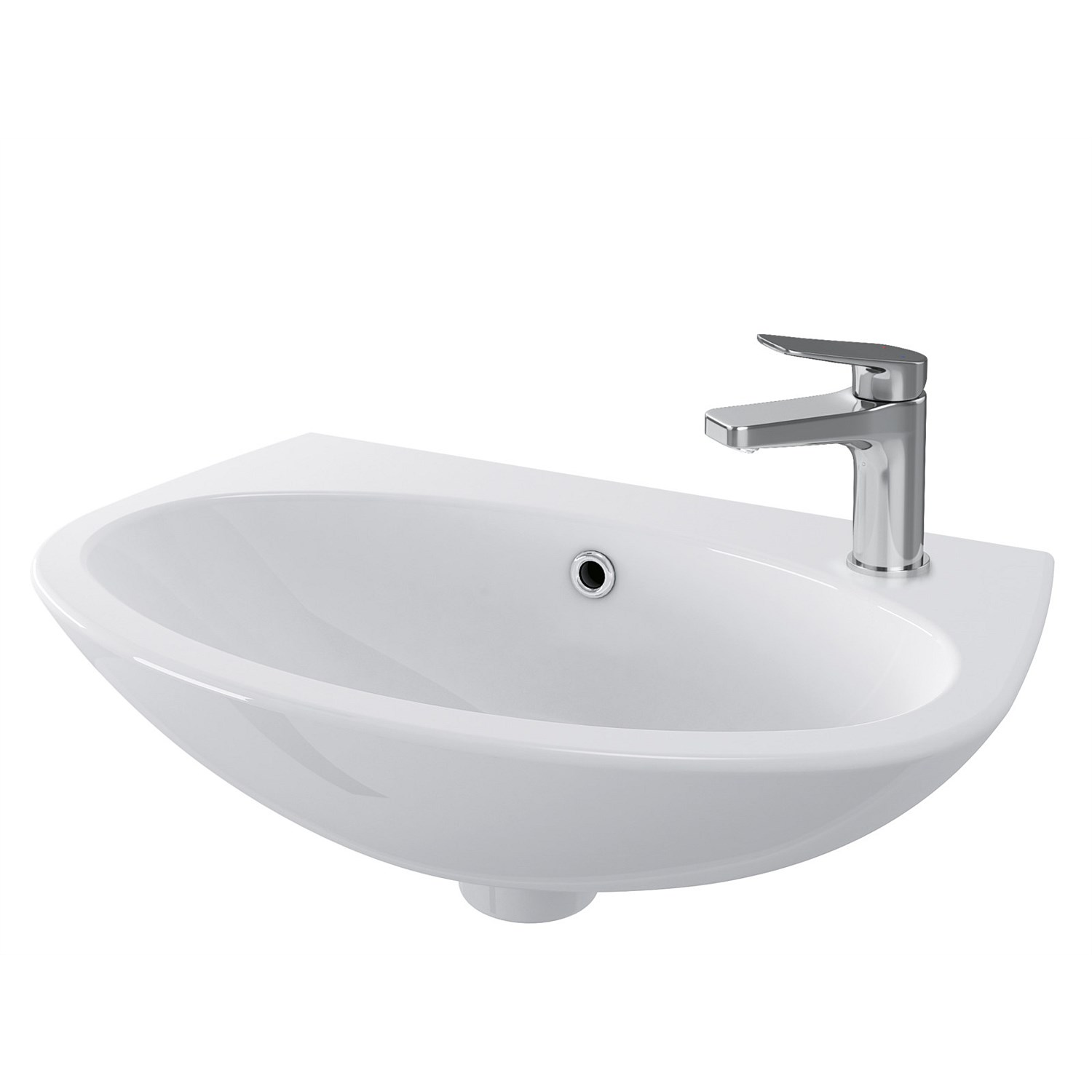 Wall-Hung - Toto Sintra II 450mm Ensuite Basin