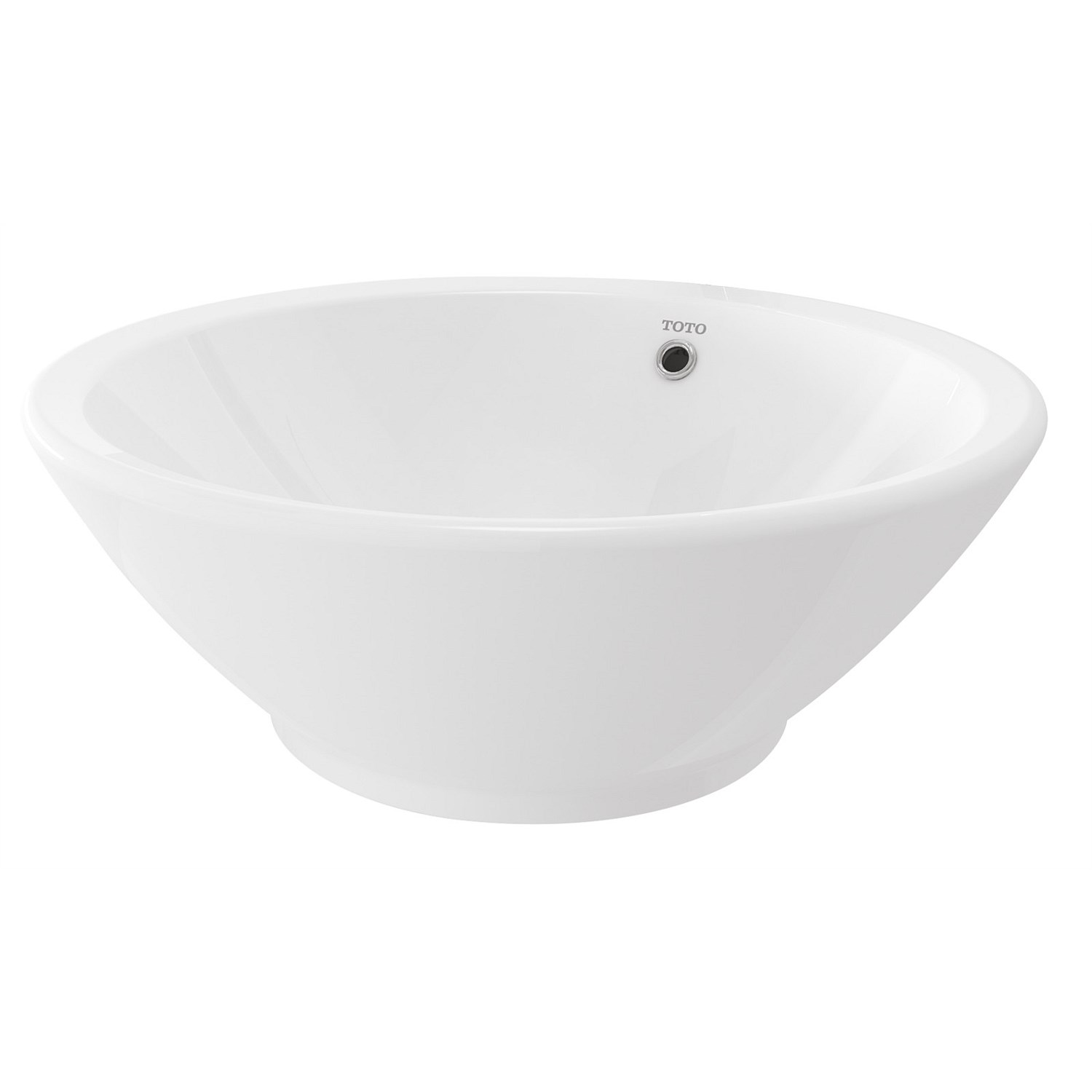 Basins | Plumbing World - Toto Valdes 430mm Round Vessel Counter Top ...