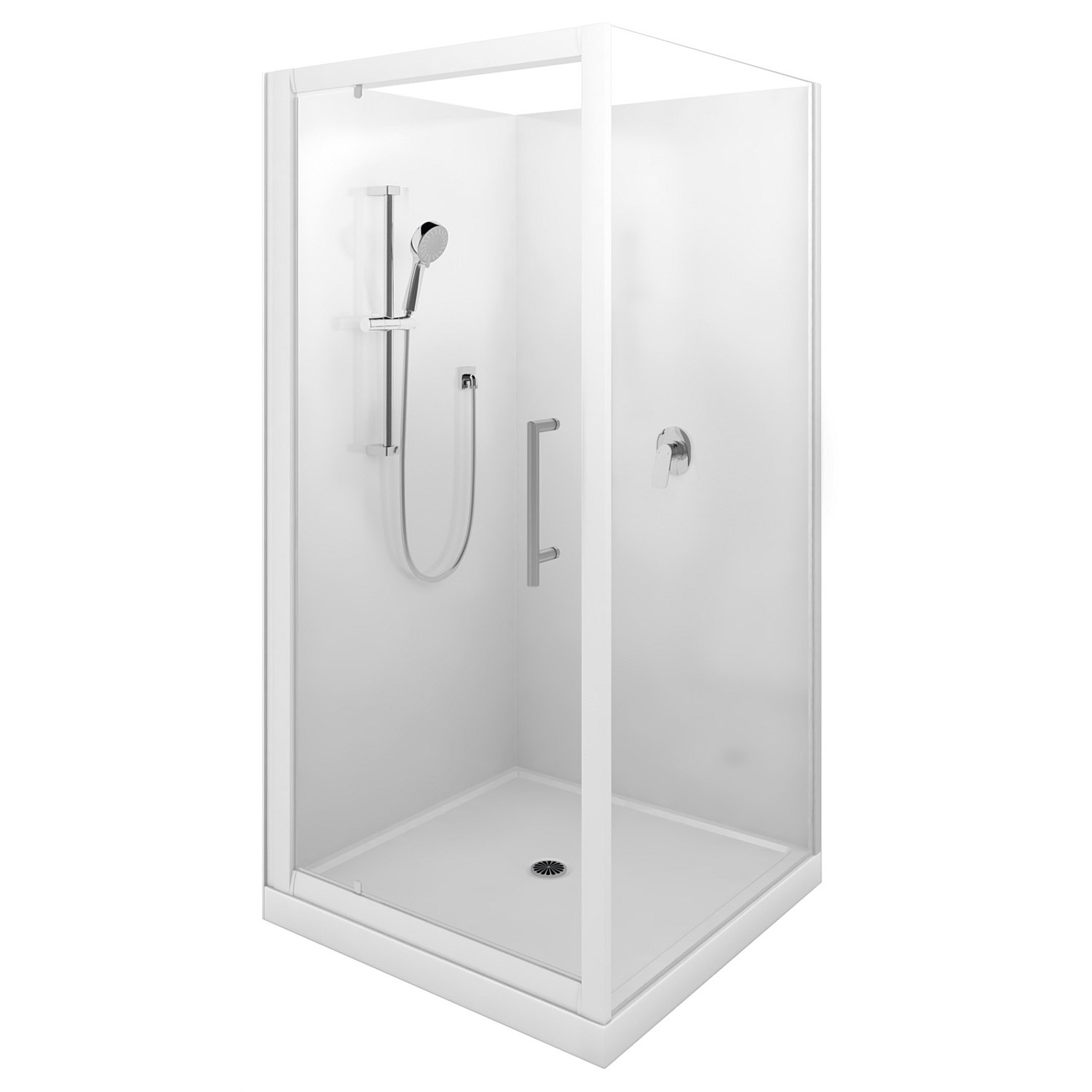 Showers | Plumbing World - LeVivi Cabris 900mm Square Shower Enclosure