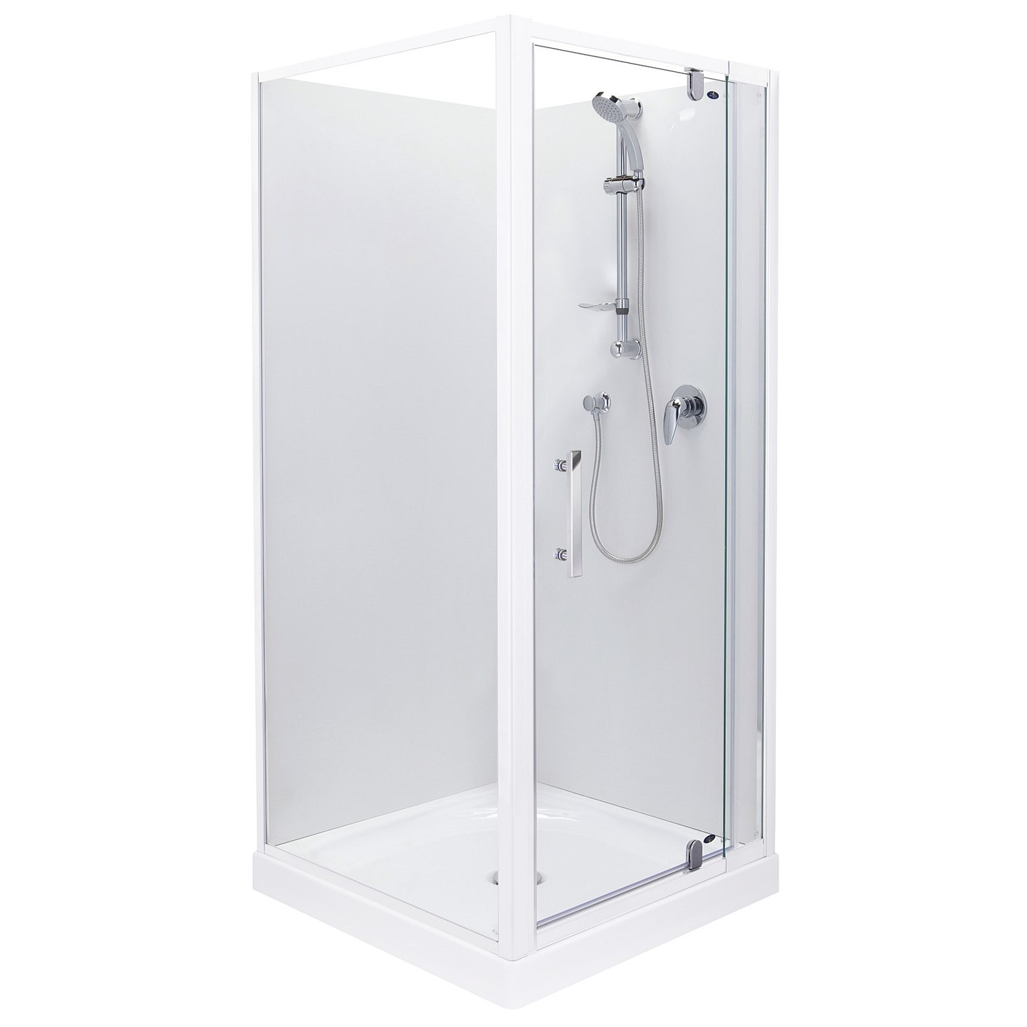 Showers - Englefield Azure 1000mm Square Shower Enclosure