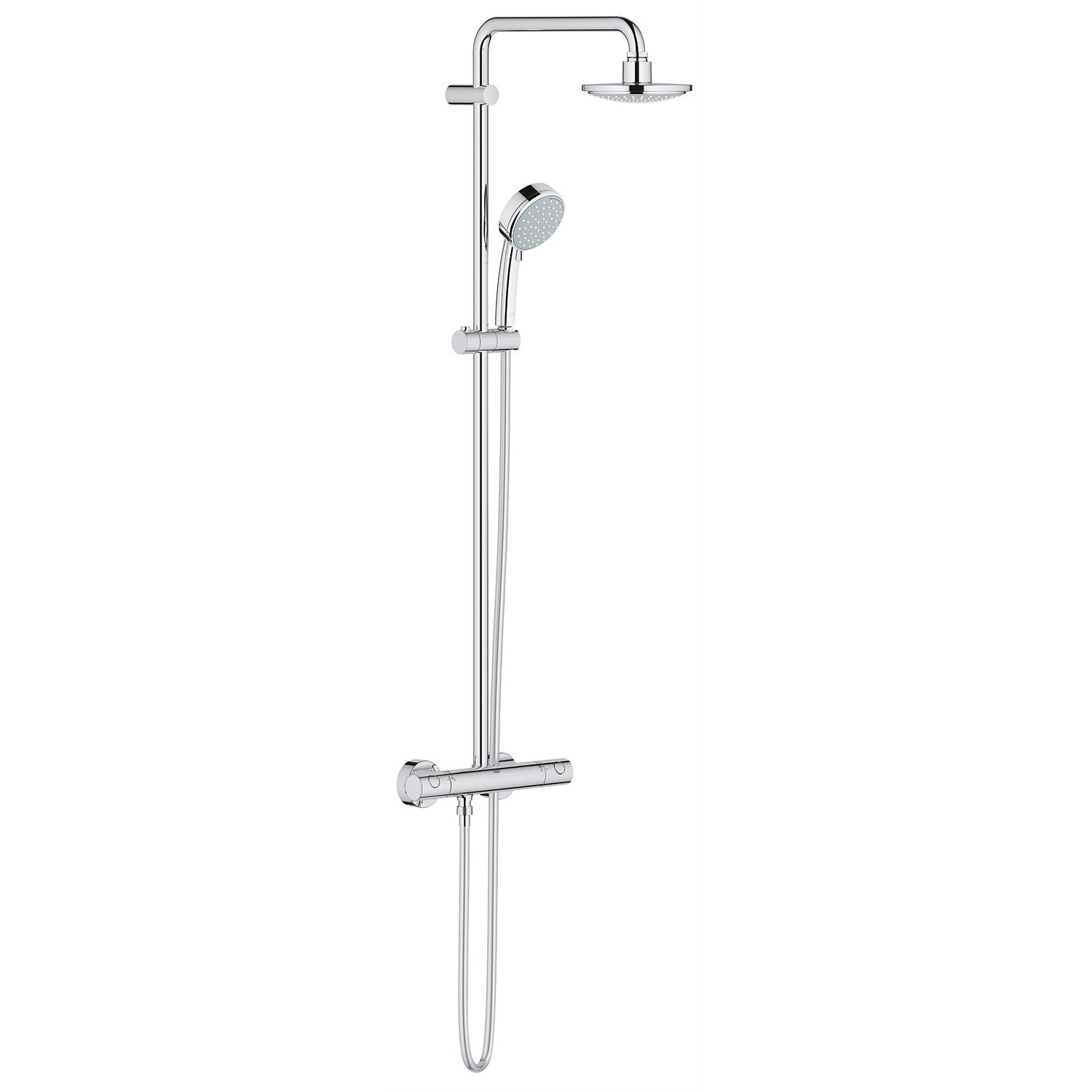 Slide Showers - Grohe Tempesta Shower System with Thermostatic Control