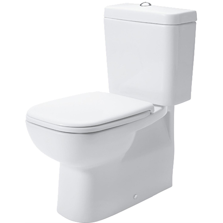 Hervorragend Duravit - Duravit D-Code Back-To-Wall Toilet Suite CM22