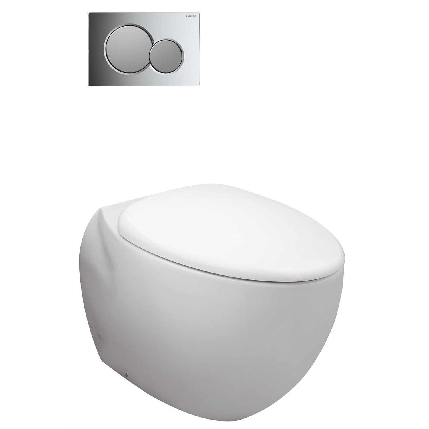Toilet Suites | Plumbing World - Toto Le Muse Wall-Faced Toilet Suite