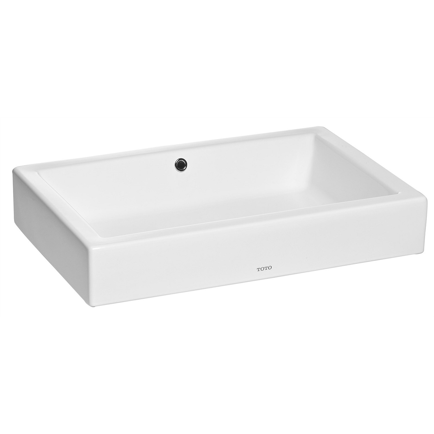 Counter-Tops and Vessels - Toto Santo Rectangle Counter Top Basin