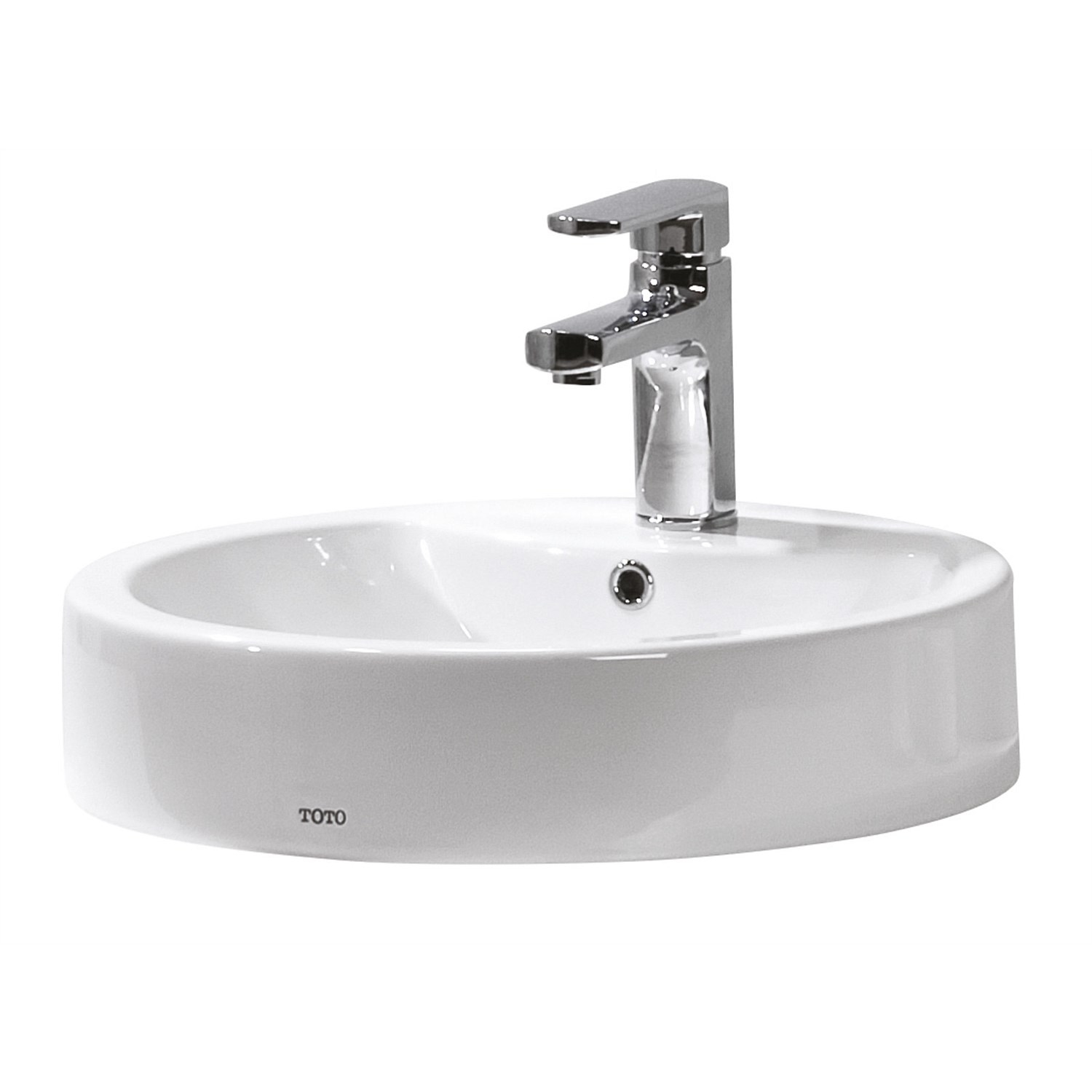 Basins | Plumbing World - Toto Santo Round Counter Top Basin