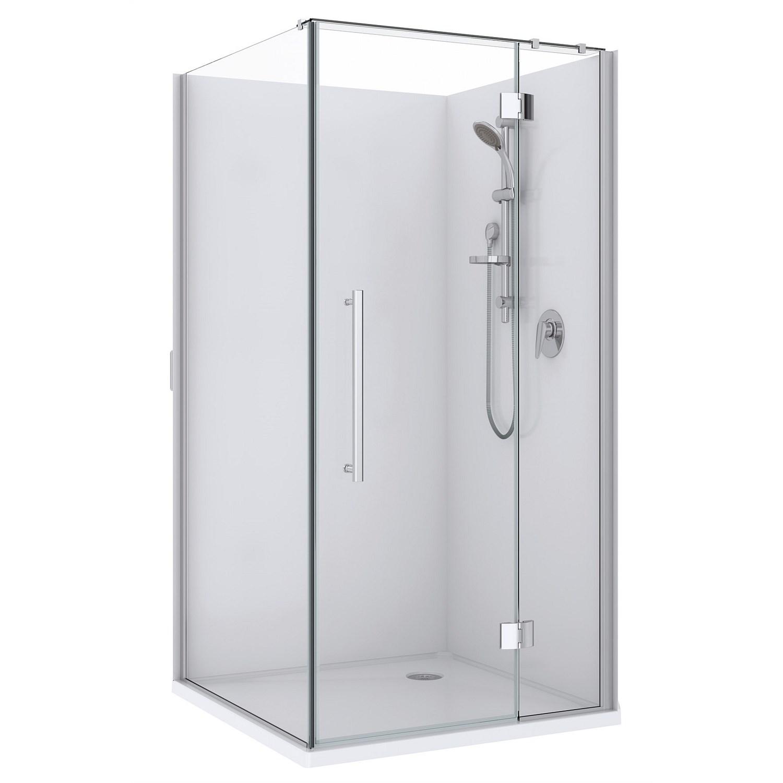 Showers | Plumbing World - Newline Maritsa 915mm 2 Sided Shower ...
