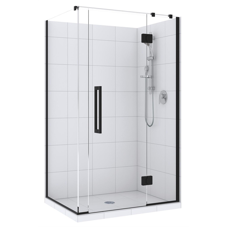 Showers | Plumbing World - Newline Acclaim 1000mm 2 Sided Shower ...