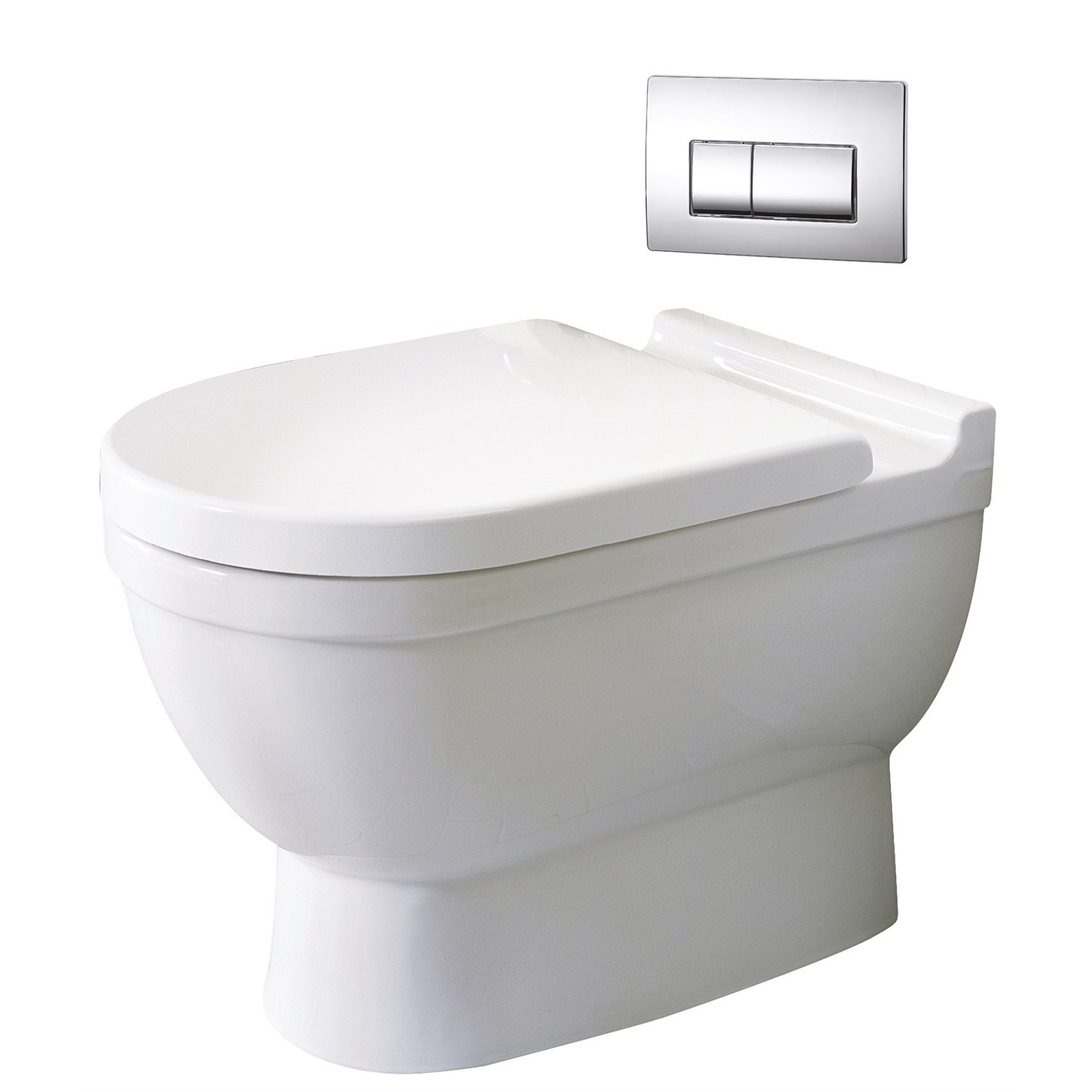 Toilet Suites Plumbing World Duravit Starck 3 Floor