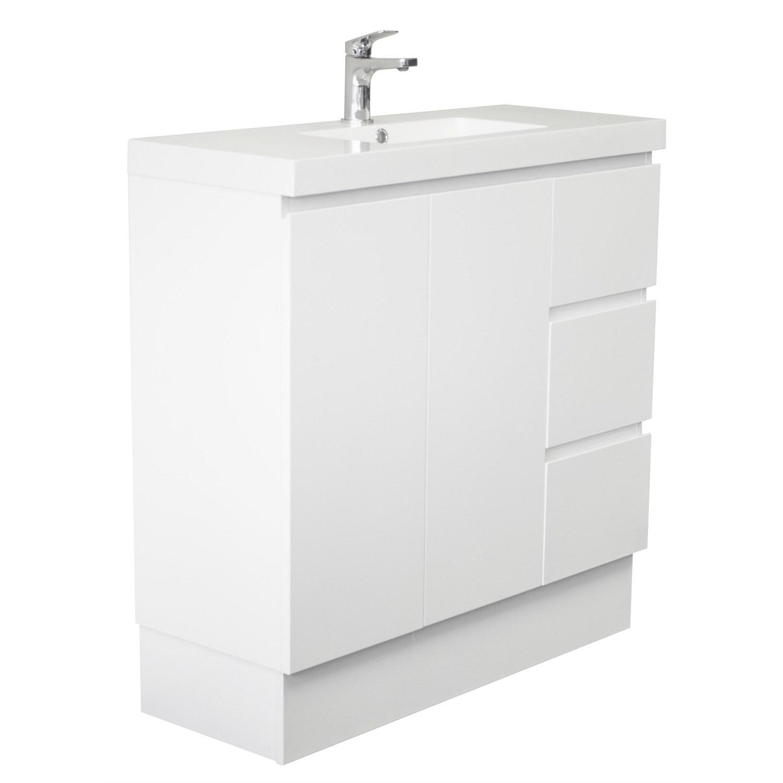 Vanities and Storage - LeVivi Surrey Slim 900mm Vanity