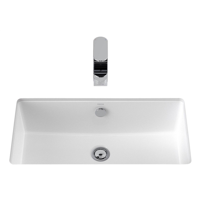 Basins   Plumbing World - Caroma Quinn 570mm Under Counter Basin