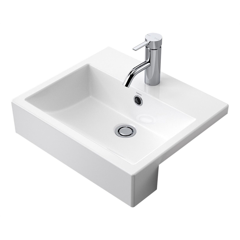 Basins Plumbing World Caroma Liano Nexus 450mm Semi