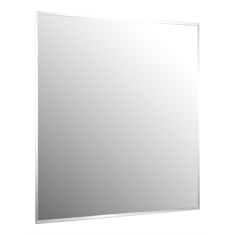 Mirrors   Plumbing World - Clearlite 900mm Bevelled Edge Mirror