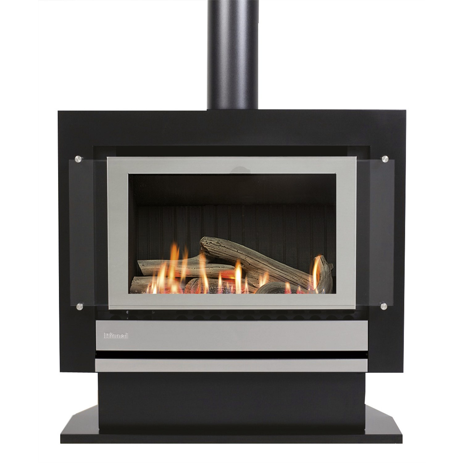 Fires Rinnai Neo Lpg Free Standing Gas Fire