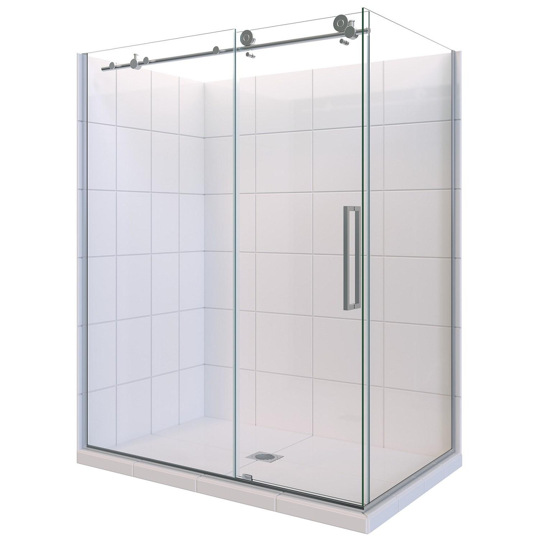 Showers | Plumbing World - Newline Ravello 1200mm 2 Sided Shower ...