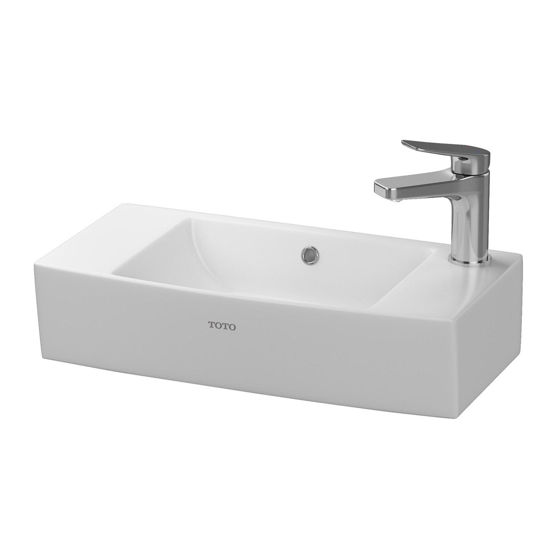 Basins | Plumbing World - Toto Santo 510mm LH Ensuite Basin