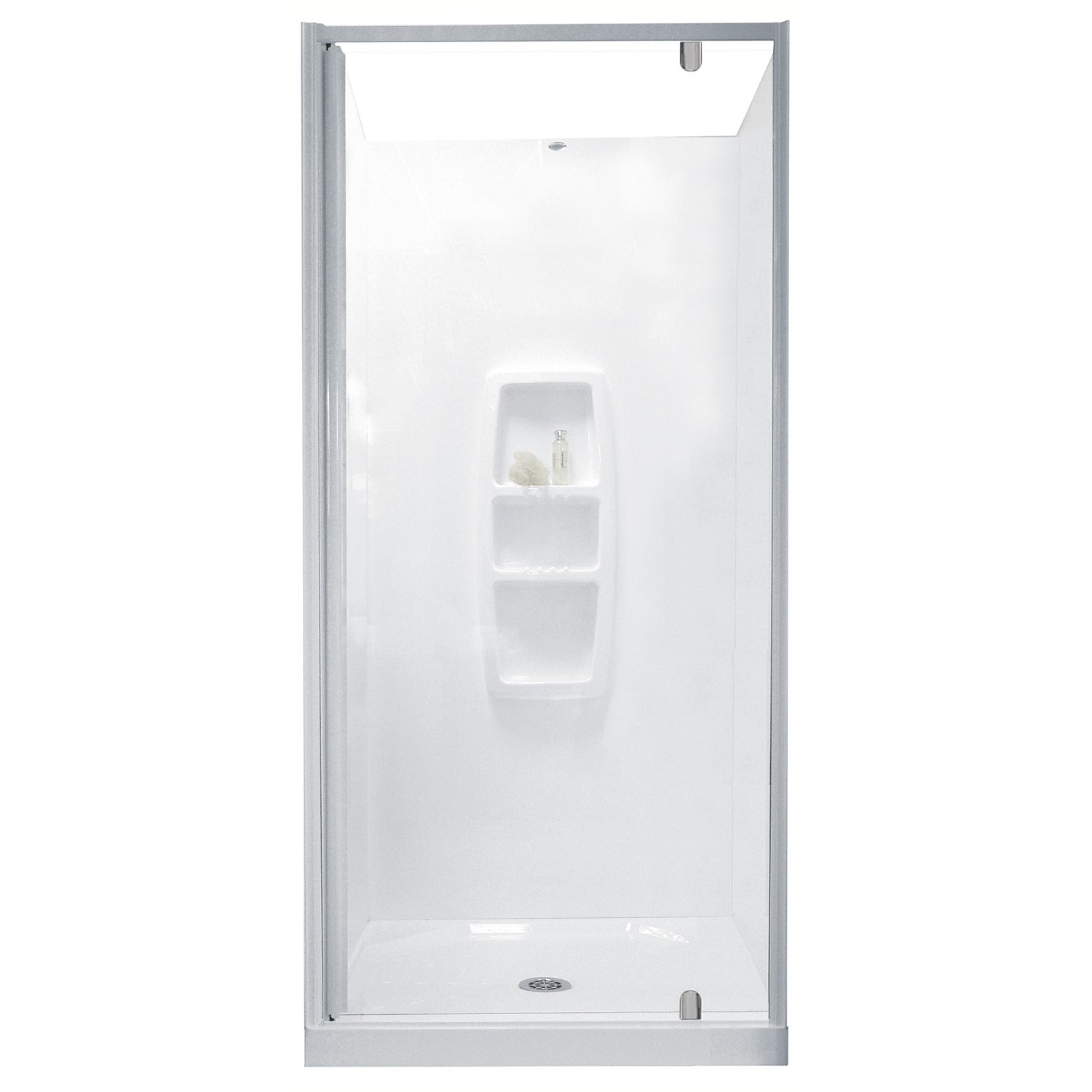 Acrylic - Clearlite Sierra 1200mm 3 Sided Shower Enclosure