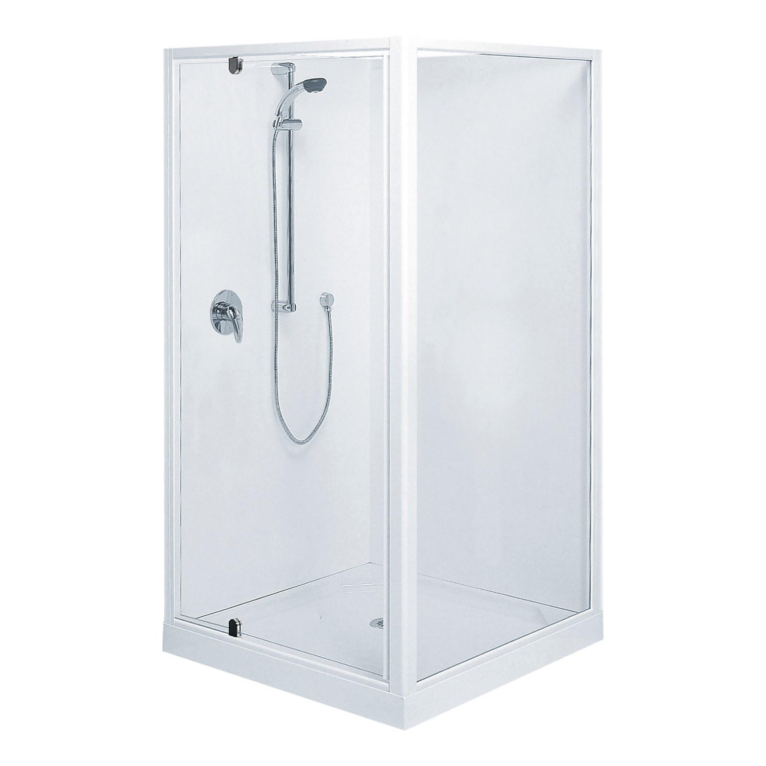Showers Clearlite Sierra 1000mm 2 Sided Square Shower Enclosure