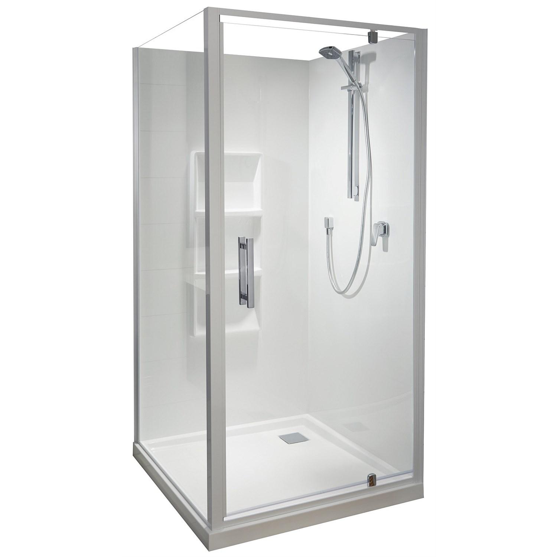 Acrylic - Athena Soul 1000mm 2 Sided Shower Enclosure