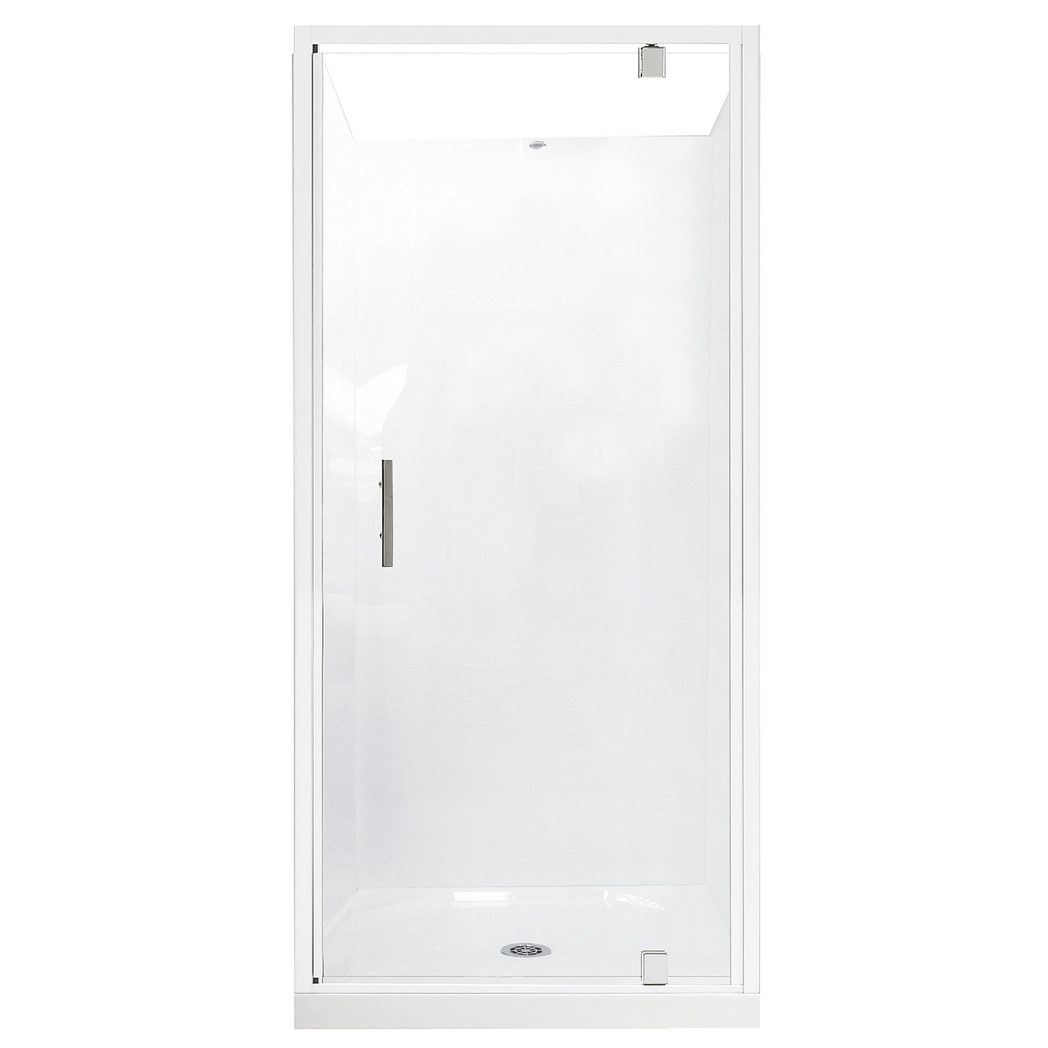 Showers | Plumbing World - Clearlite Induro 900mm 3 Sided Shower ...
