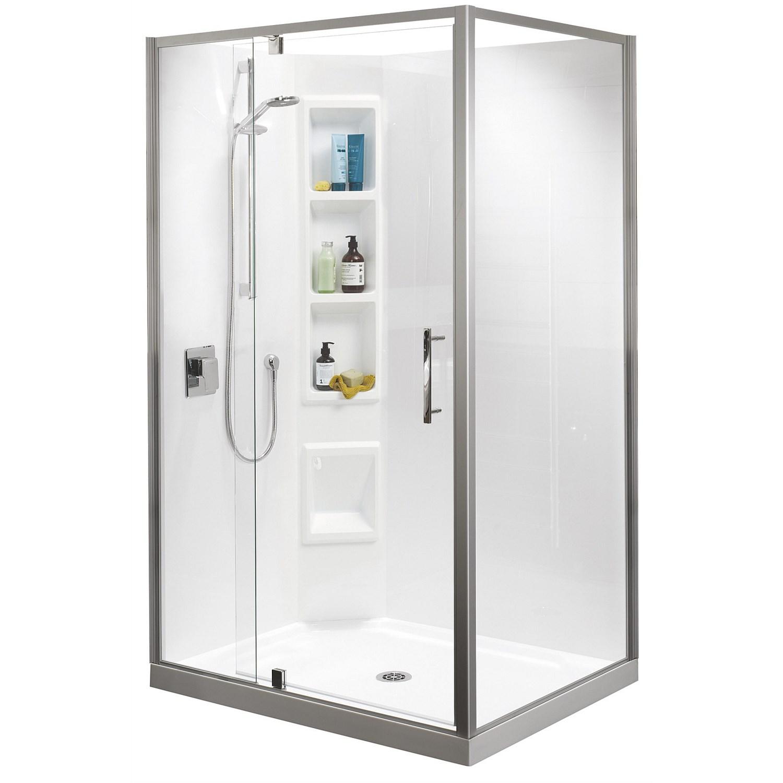 Showers - Clearlite Millennium 900mm 2 Sided Shower Enclosure