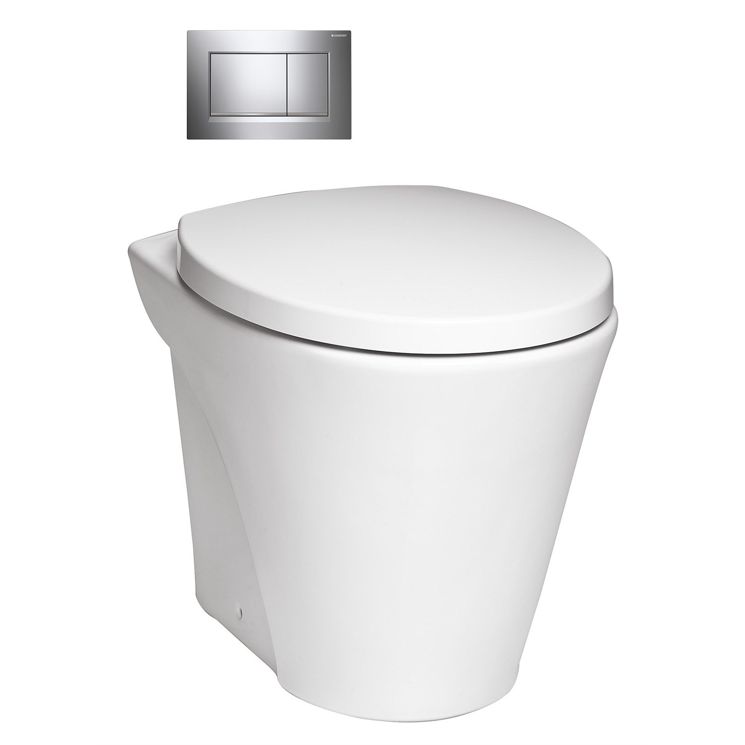 Back-to-wall - Toto Santa Maria Wall-Faced Toilet Suite