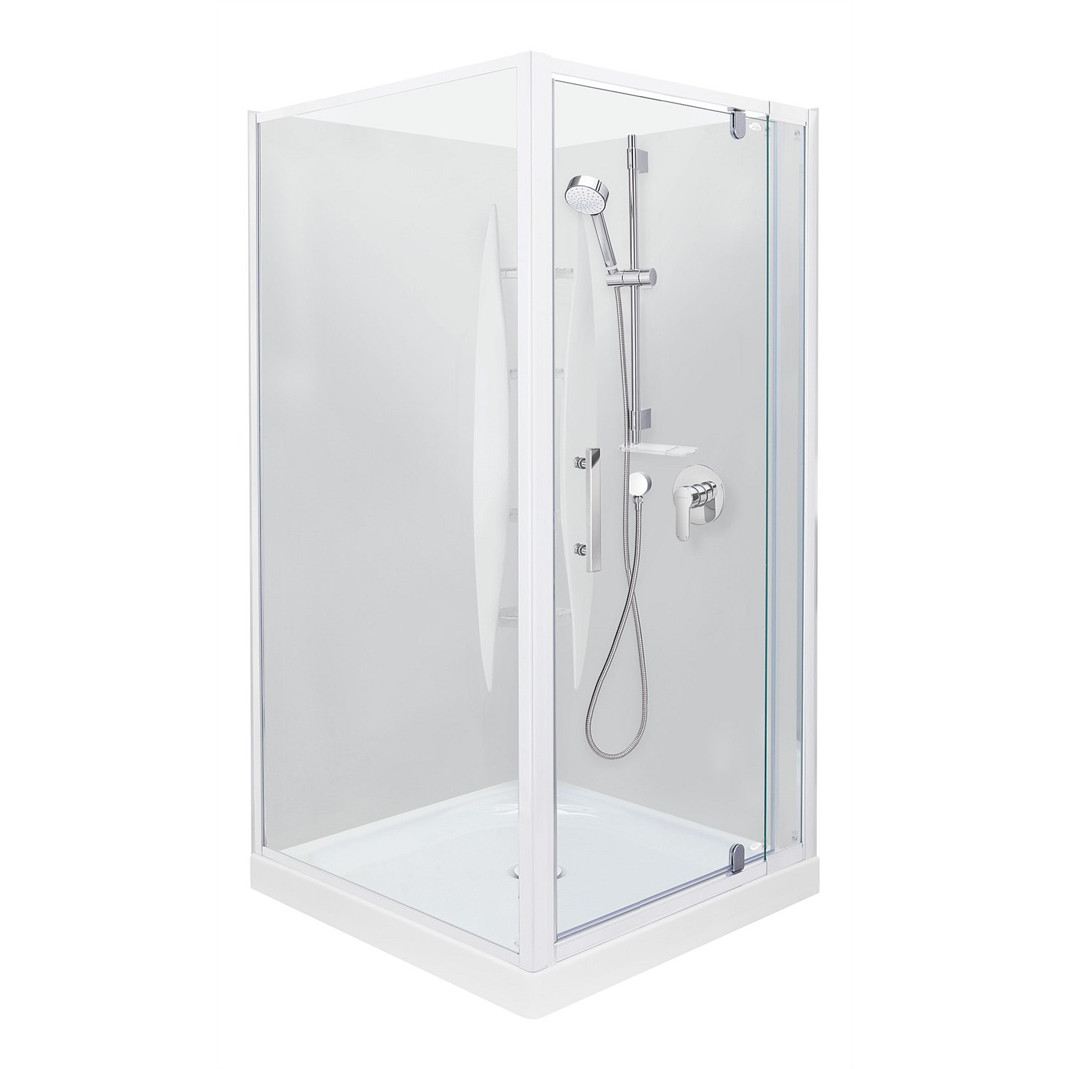 Showers | Plumbing World - Englefield Azure 1000mm Square Shower ...