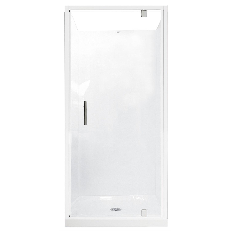 Showers   Plumbing World - Clearlite Induro 1000mm 3 Sided Shower ...