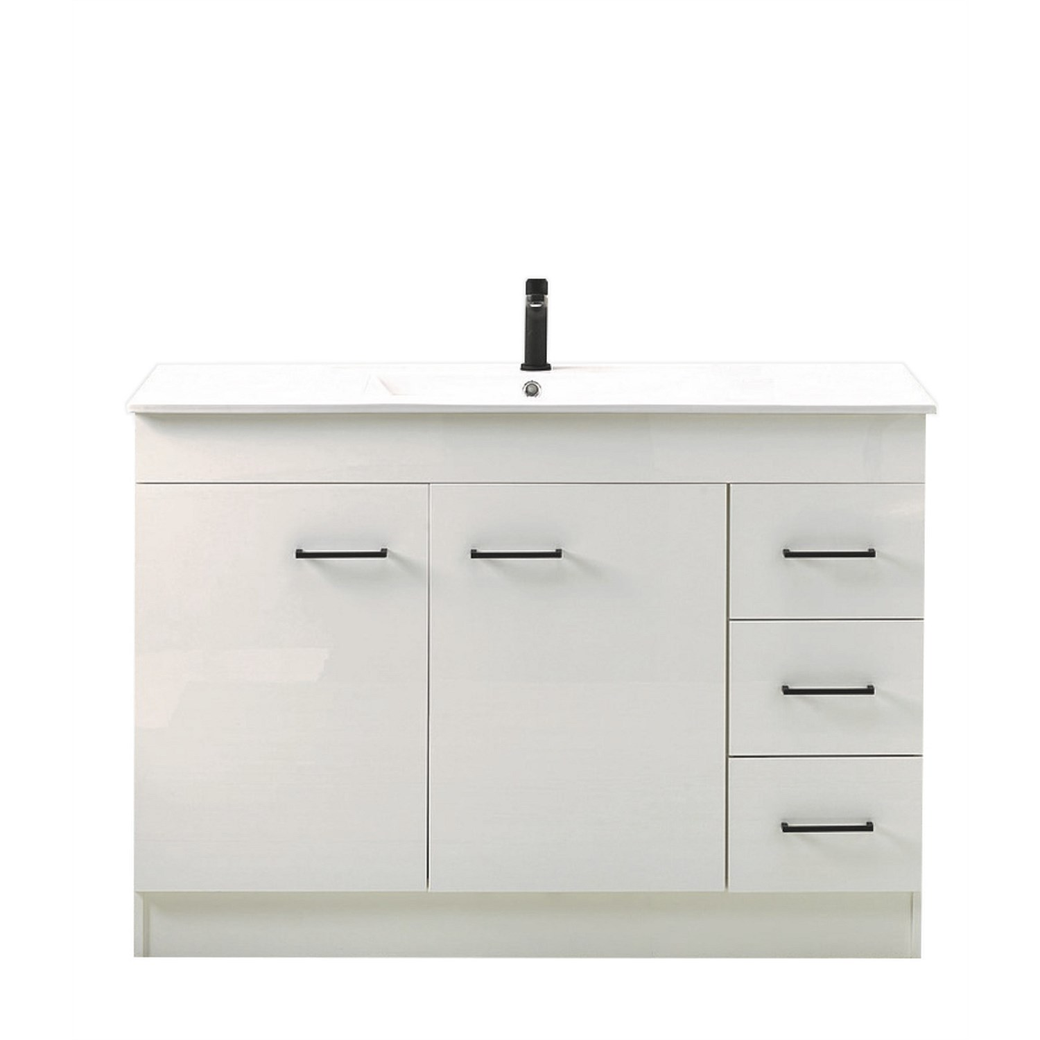 Vanities And Storage Clearlite Cashmere 1200mm Classic