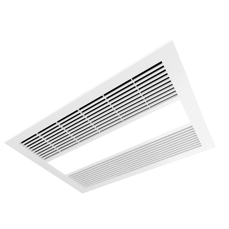 Ventilation And Heating Manrose Milan Bathroom Led Fan