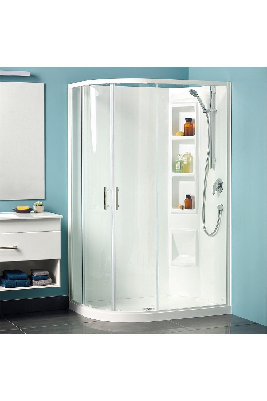 Showers Plumbing World Clearlite Cezanne 1200mm Round