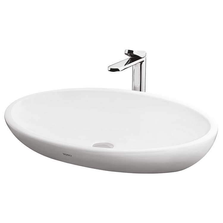 Toto Le Muse 650mm Oval Counter Top Basin