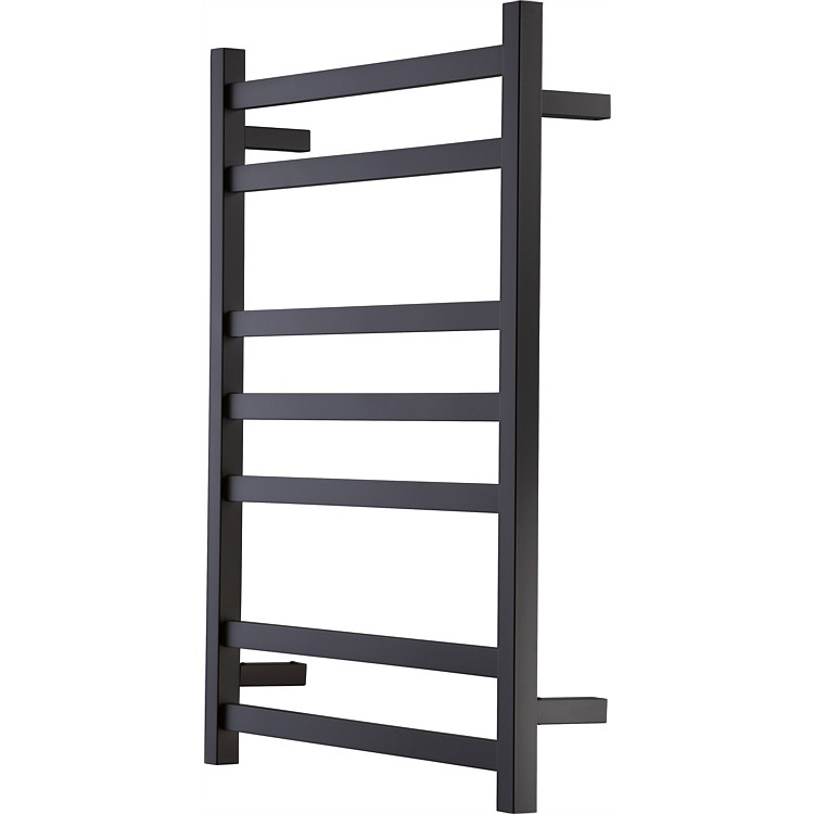 Heirloom Studio 1 Noir 7 Bar Towel Warmer