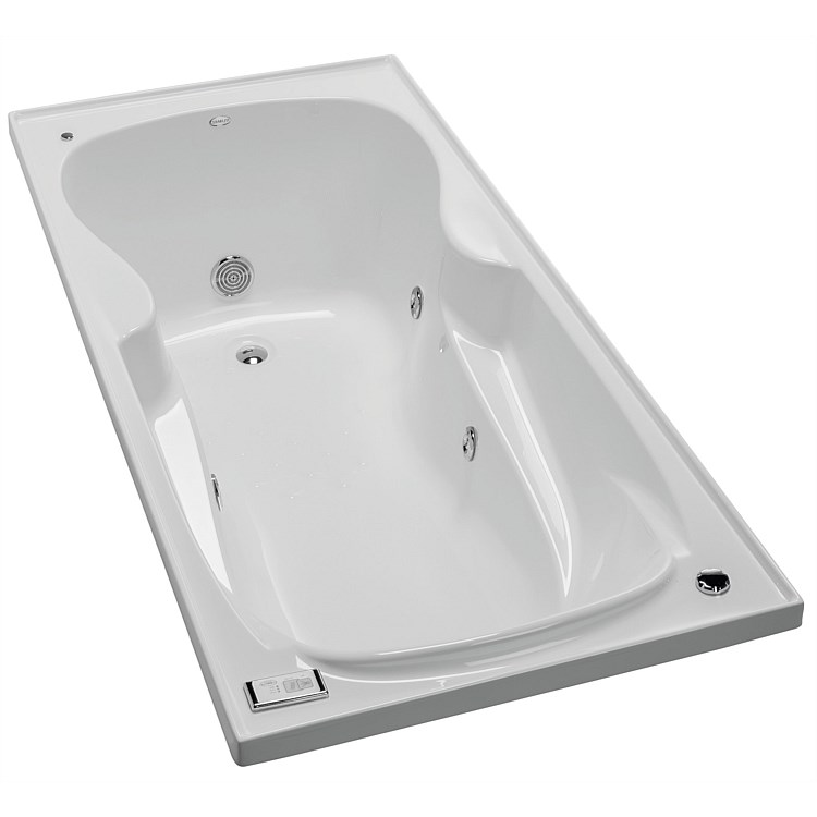 Clearlite Gauguin Whisper 1675mm Spa Bath