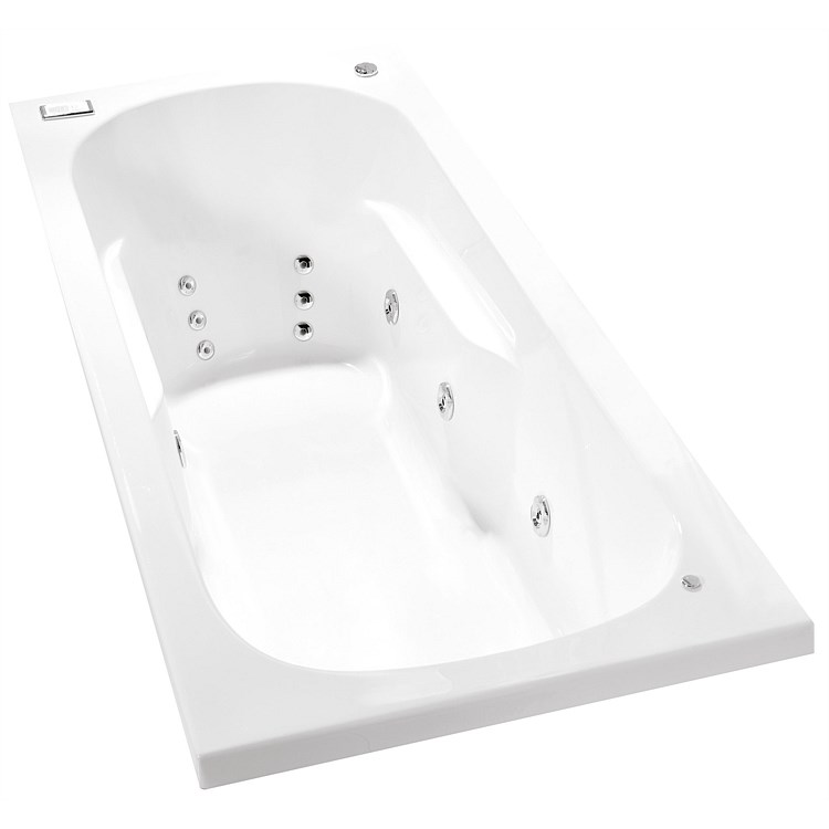 Clearlite Kahlo 1675mm Hydrotherapy Bath