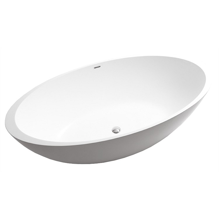 Marblo Mojo 1650mm Oval Bath