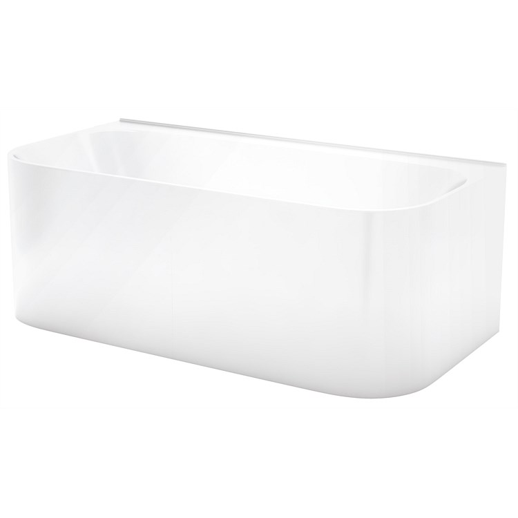 LeVivi Lucca 1600mm Back-To-Wall Bath