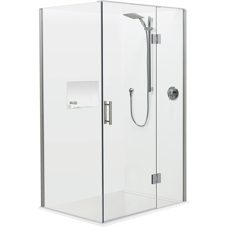Atlantis Brenner 1200mm 2 Wall Shower Enclosure