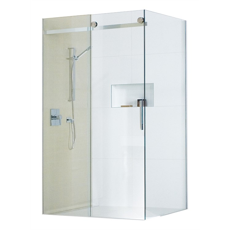 Atlantis Linea Quattro 1200mm 2 Sided Shower Enclosure