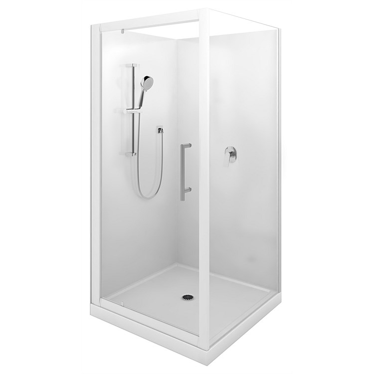 LeVivi Cabris 1000mm Square Shower Enclosure