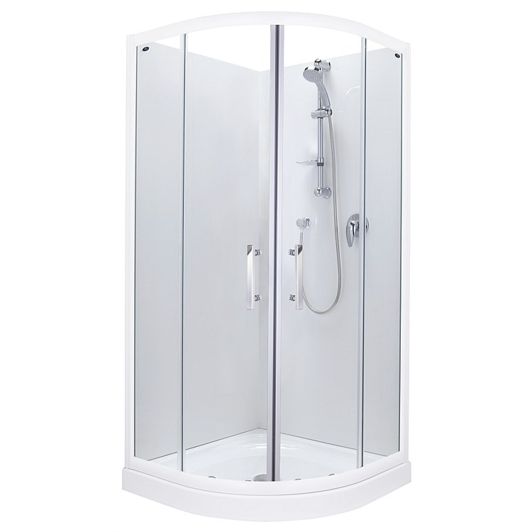 Englefield Azure 1000mm Round Shower Enclosure