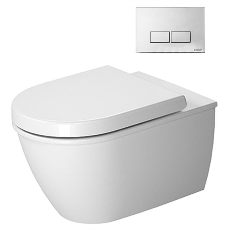 Duravit Darling New Wall-Hung Toilet Suite
