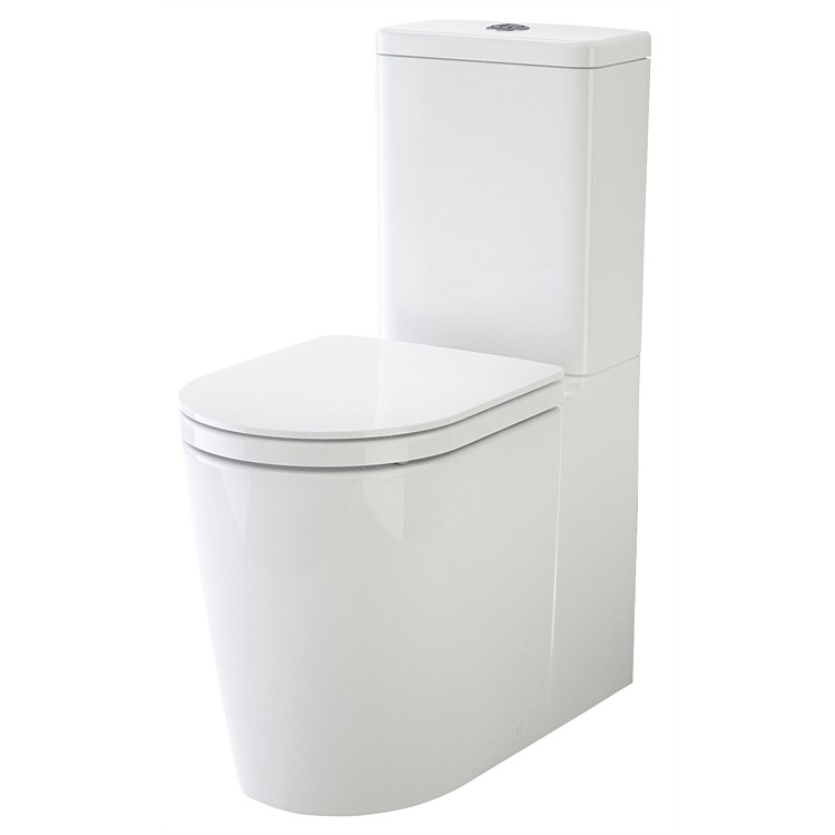 Caroma Liano Cleanflush® Easy Height Wall-Faced Toilet Suite