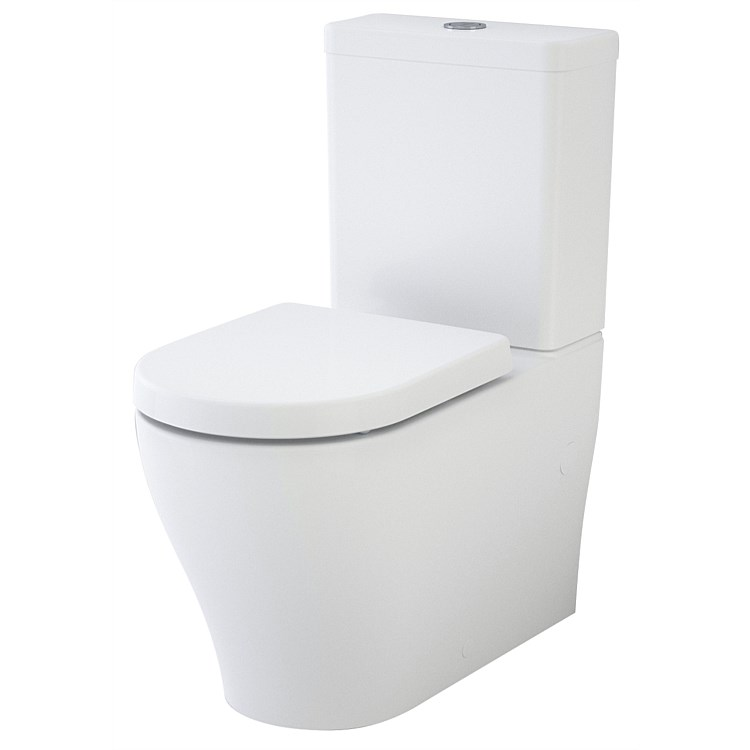 Caroma Luna Wall-Faced Toilet Suite