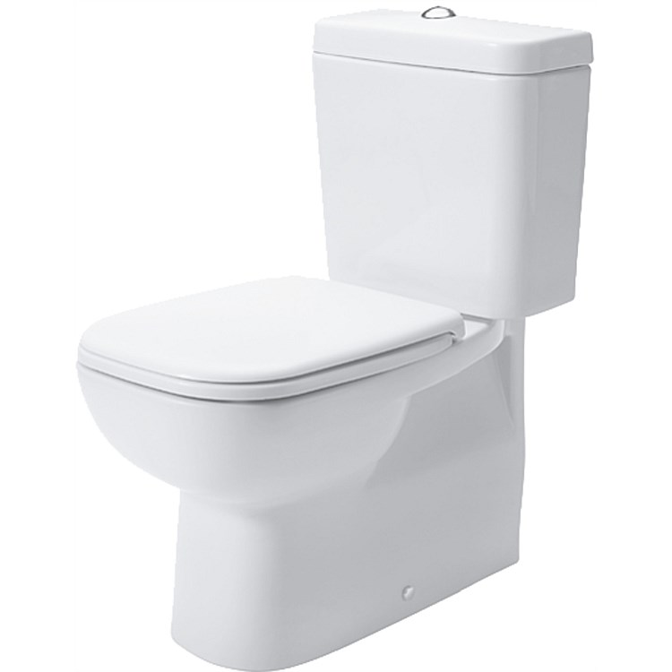 Duravit D-Code Back-To-Wall Toilet Suite