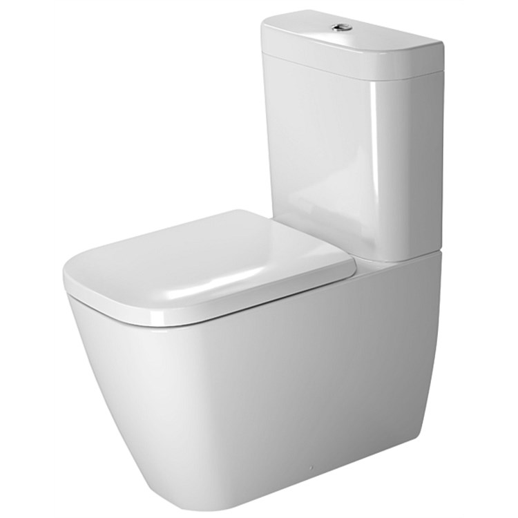Duravit Happy D2 Back-To-Wall Toilet Suite
