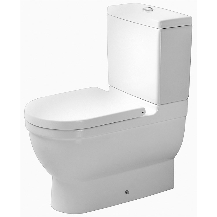 Duravit Starck 3 Back-To-Wall Toilet Suite