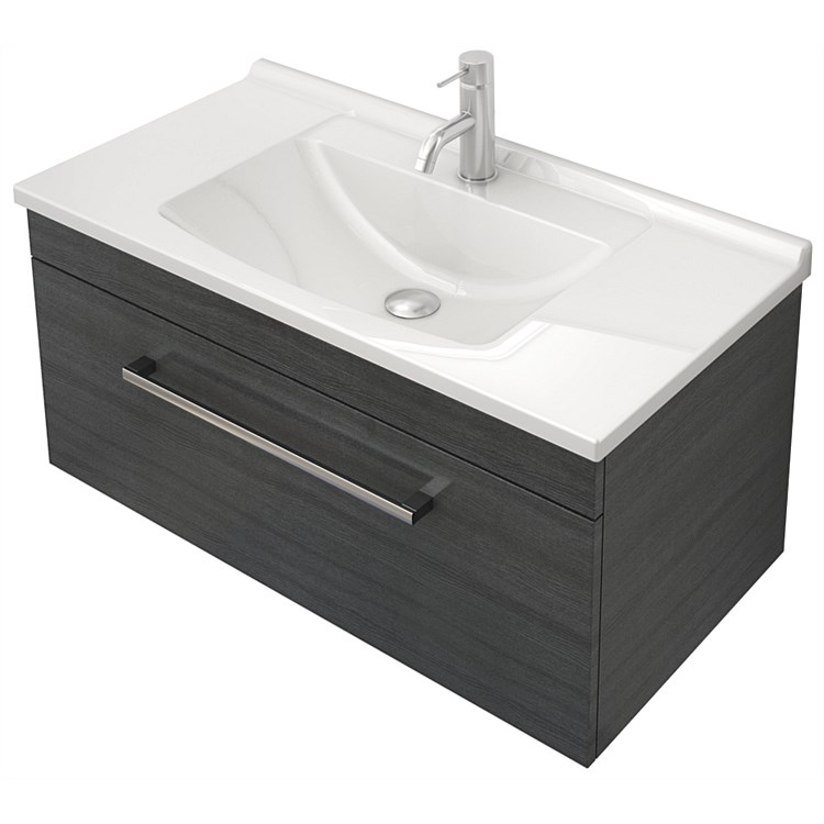 St Michel Riva Classic 750mm Wall-Hung Vanity