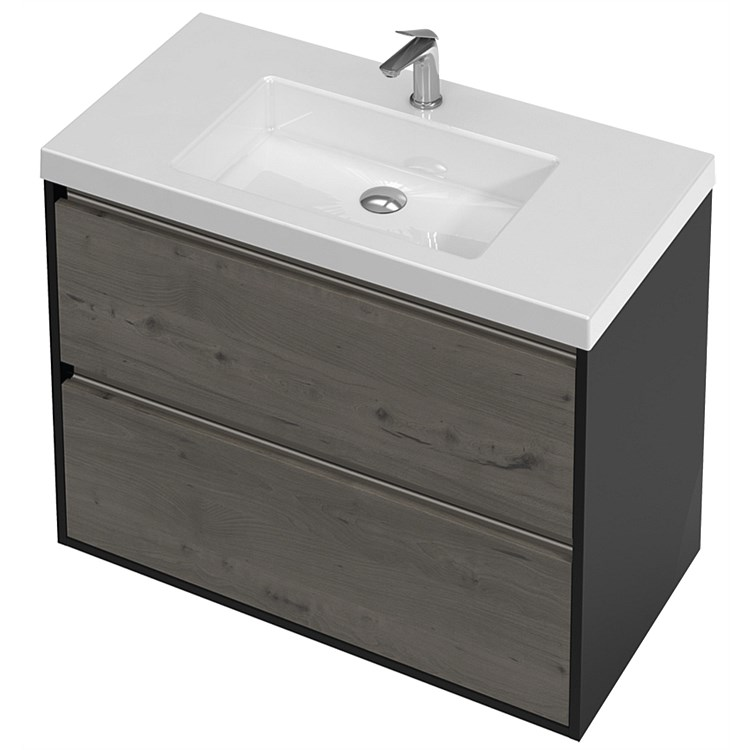 St Michel City 900mm Wall-Hung Vanity